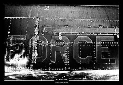 Photograph - Art Work 160 Force by Alexander Drum