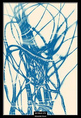 Digital Art - Art Work 171 Nervous System by Alexander Drum