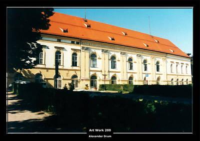 Painting - Art Work 200 Schleissheim Castle by Alexander Drum