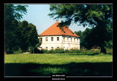 Painting - Art Work 225 Bavaria Castle by Alexander Drum