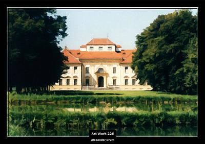 Painting - Art Work 226 Bavaria Castle by Alexander Drum