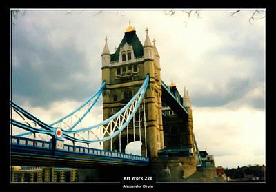 Painting - Art Work 228 Tower Bridge London by Alexander Drum