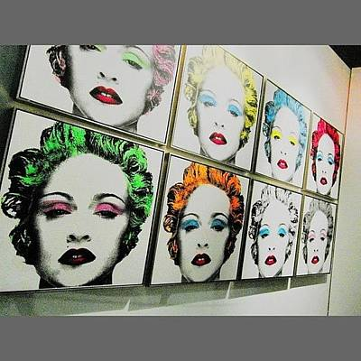 Pop Art Photograph - #art #work  In #exhibition Of #mr by Enoch Soames