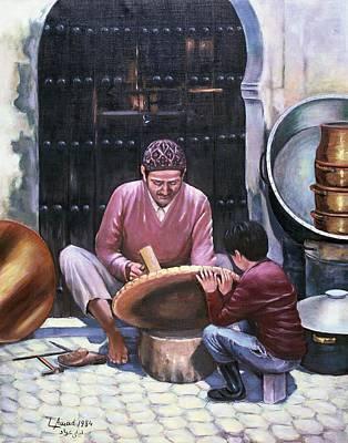 Art Work Art Print by Laila Awad Jamaleldin