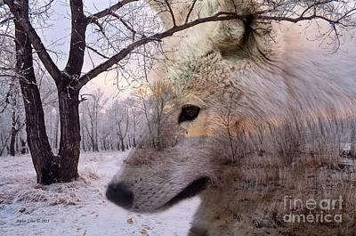 Photograph - Artec Wolf by Annie Zeno
