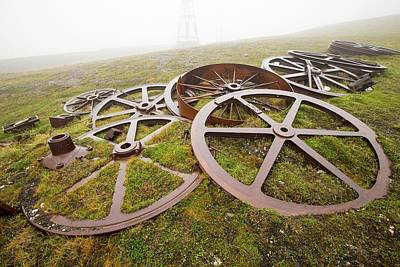 Artefact Photograph - Artefacts At An Abandoned Coal Mine by Ashley Cooper