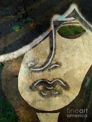 Gaia Digital Art - Artemis by Angelica Smith Bill