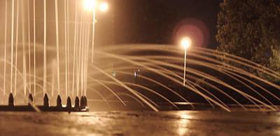 Photograph - Artesian-well In The Night by Vlad Baciu