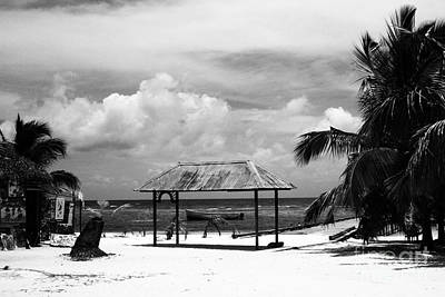 Photograph - Artful Beach Black And White by Heather Kirk