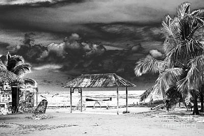 Photograph - Artful Beach Infrared by Heather Kirk