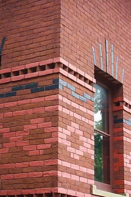 Wild And Wacky Portraits - artful brick work Mark Twain House by Chuck Hicks