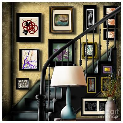 Digital Art - Artfully Home by J Kinion