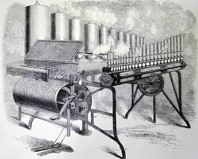 Arthur Denny's Steam Organ Art Print
