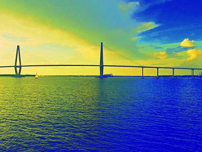 Arthur Ravenel Bridge 19 Art Print