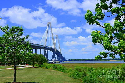 Photograph - Arthur Ravenel Bridge Of Charleston South Carolina by Debra Martz
