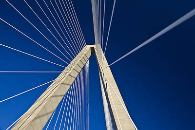 Photograph - Arthur Ravenel Jr. Bridge Charleston by Pierre Leclerc Photography