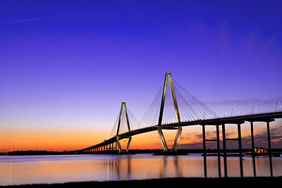 Photograph - Arthur Ravenel Jr. Bridge by Dustin  LeFevre