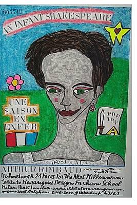 Dernier Pastel - Arthur Rimbaud by Francesco Martin
