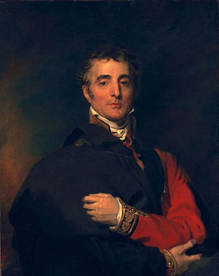 Military Uniform Painting - Arthur Wellesley, Duke Of Wellington by Sir Thomas Lawrence