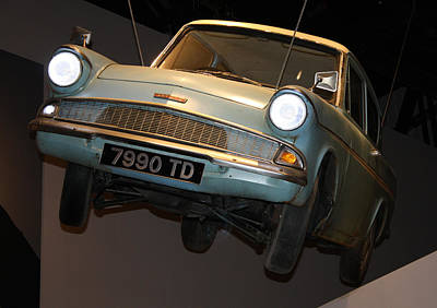 Photograph - Arthur's Flying Ford Anglia by David Nicholls