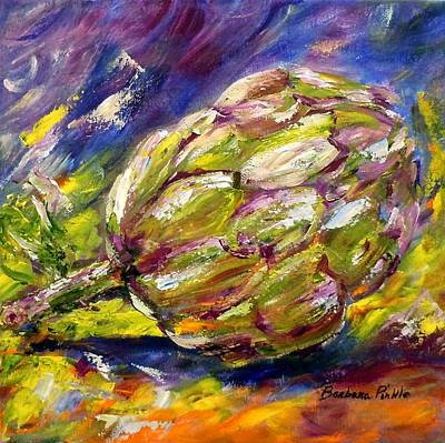 Painting - Artichoke by Barbara Pirkle