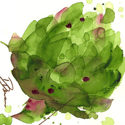 Artichoke II Art Print by Dawn Derman