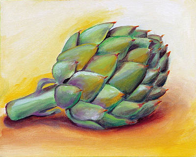 Painting - Artichoke by Laura Dozor