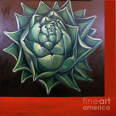 Painting - Artichoke by Shelley Laffal