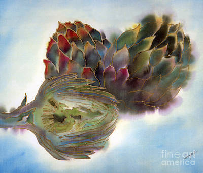 Artichokes Print by Addie Hocynec