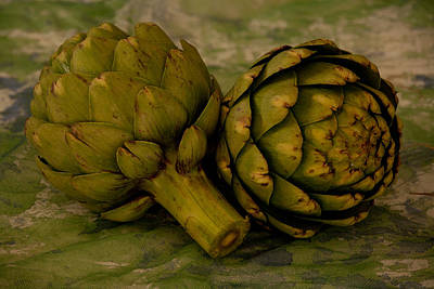 Photograph - Artichokes by Matthew Pace