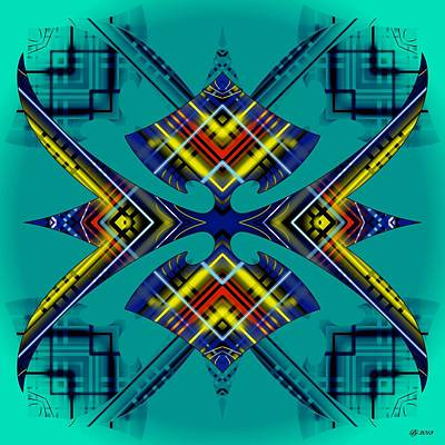 Digital Art - Articulate 26 by Brian Johnson