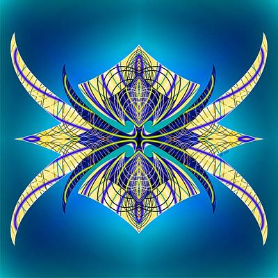 Digital Art - Articulate 7 by Brian Johnson