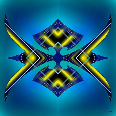 Digital Art - Articulate 9 by Brian Johnson