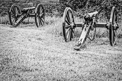 Artillery Cannons Original by Chris Smith