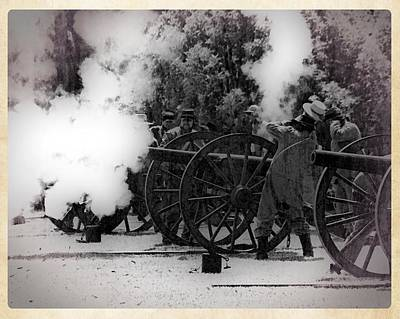 Photograph - Artillery by Timothy Bulone