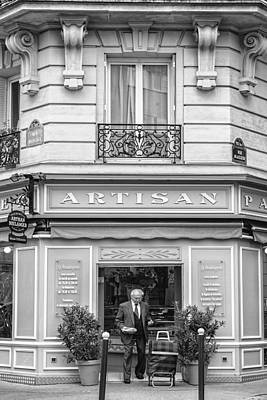 Travel Photograph - Artisan Bakery In Paris by Georgia Fowler