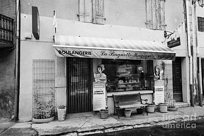 Boulangerie Photograph - Artisan Boulanger Boulangerie Patisserie Mont-louis Pyrenees-orientales France by Joe Fox