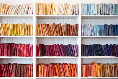 Photograph - Artisan Linen Shelf by Robert Clifford