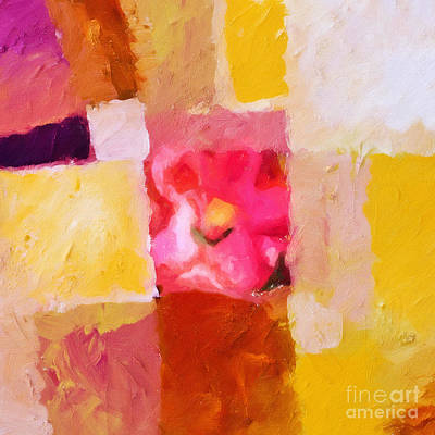 Rainbow Fantasy Art Painting - Artisan Square by Lutz Baar