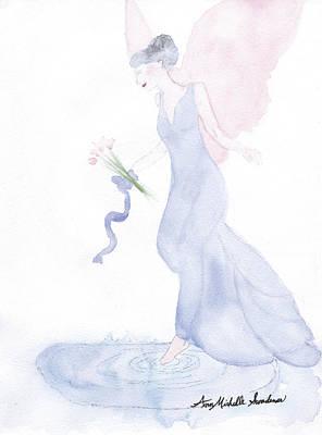 Artist Angel Art Print