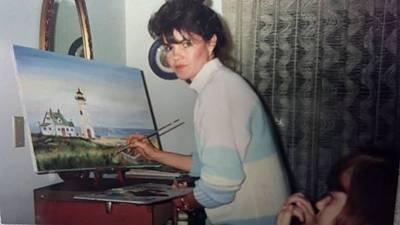 Pelts Painting - Artist Becky Van Pelt by Becky Van Pelt