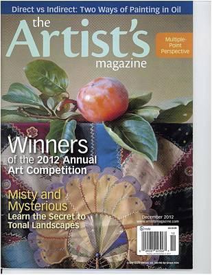 Photograph - artist Magazine Award Cover by Cliff Spohn