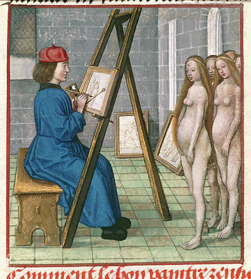 Of Artist Photograph - Artist Painting by British Library