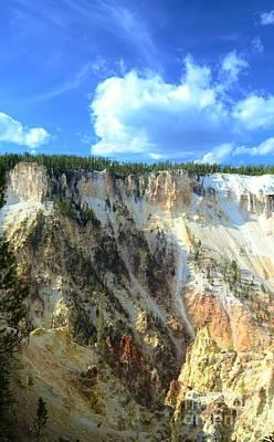 Artist Palette Of Yellowstone 2 Art Print by Kathleen Struckle