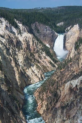 Photograph - Artist Point Grand Canyon Of The Yellowstone by Michael Gooch