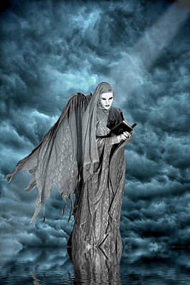 Bible Photograph - Artistic Creation Of Dark Angel by Jaynes Gallery