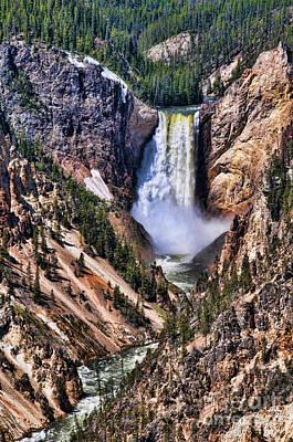 Photograph - Artistic Falls by Brenda Kean