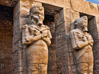 Photograph - Artistic Karnak by Brenda Kean