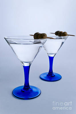 Martini Royalty-Free and Rights-Managed Images - Artistic Martini Glasses by Ken Howard