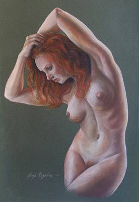 Painting - Artistic Nude by Leida Nogueira
